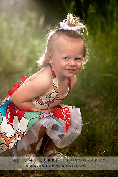 summer colorado kids portraits
