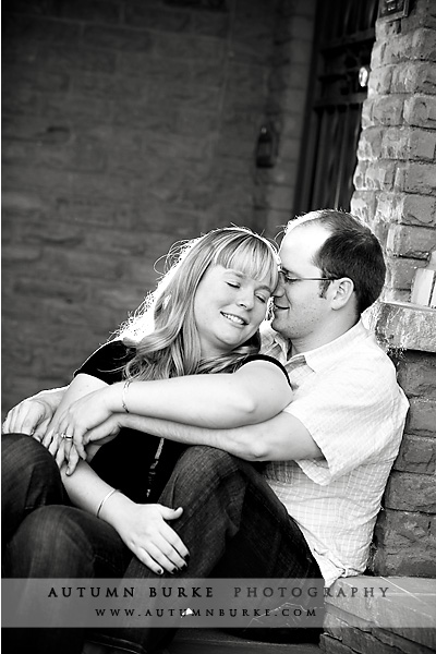 denver engagement portrait