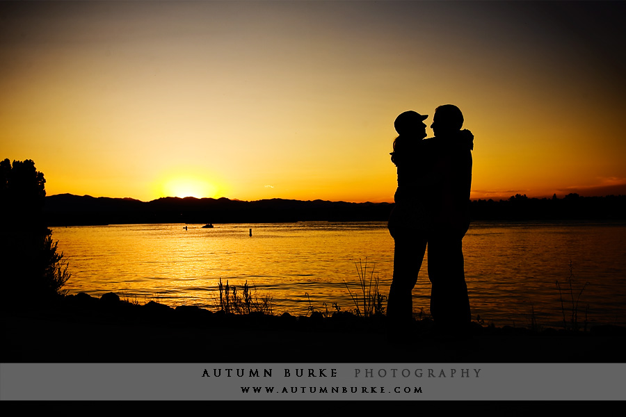 engagement session sunset