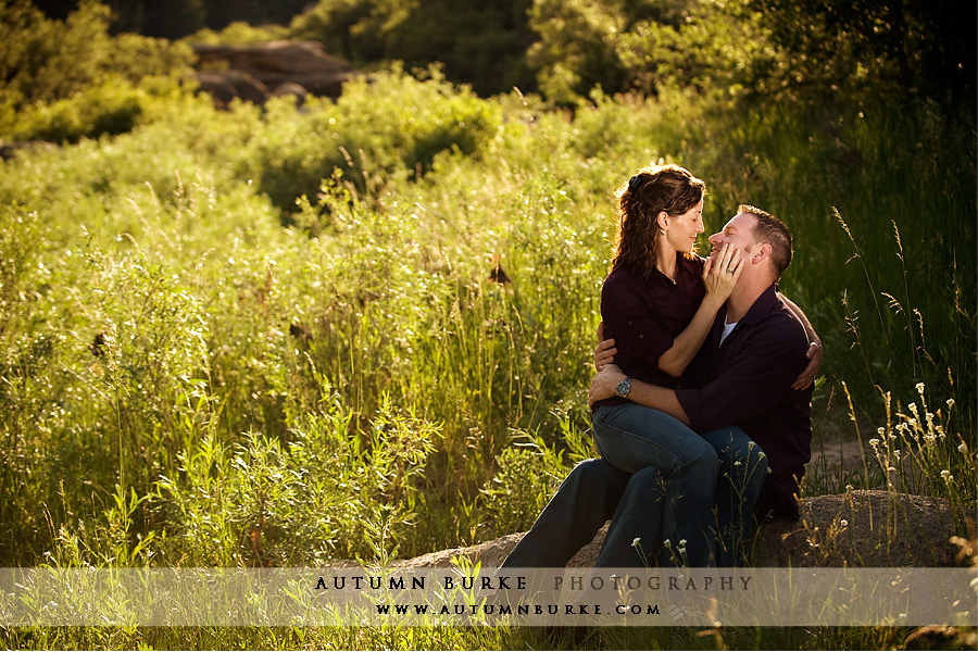 Colorado wedding photography engagement session autumn Allie s cabin beaver creek