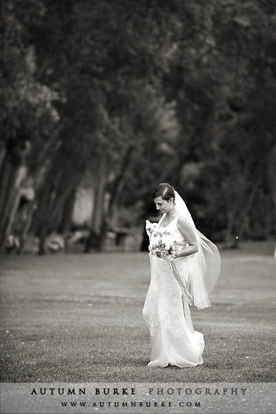bride walking