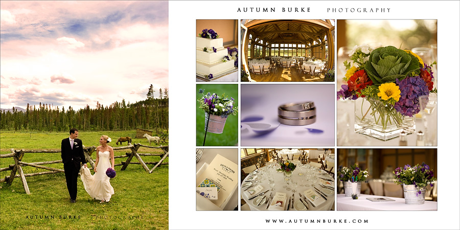 devils thumb ranch wedding details