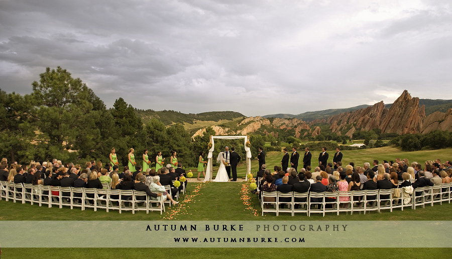 arrowhead wedding ceremony