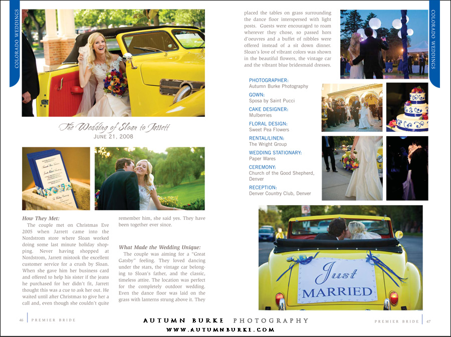premier bride colorado magazine